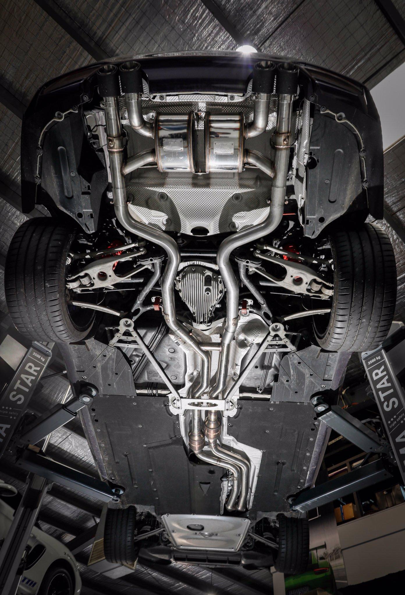 Supersprint turbo-back